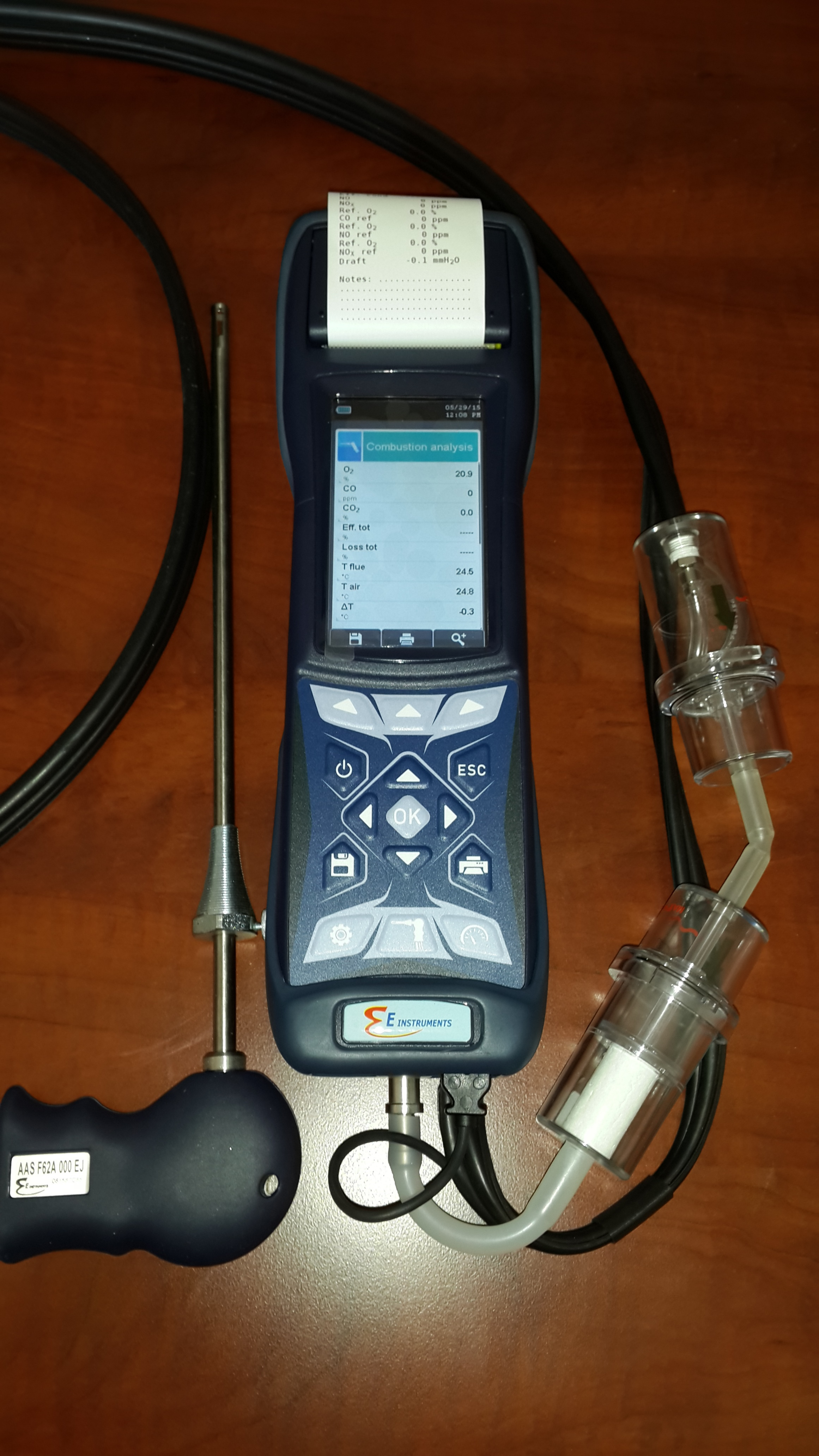 E 1500 with probe and bubbler