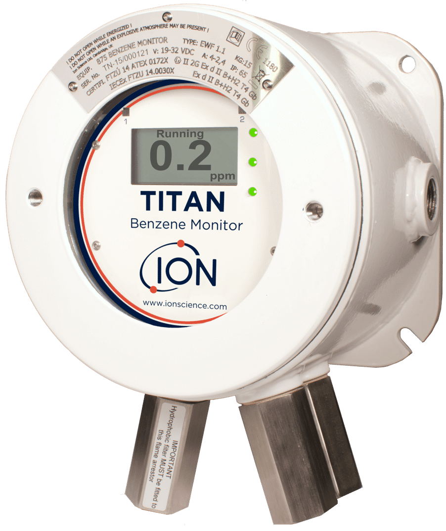 Titan Benzene detector overview 25 reduced